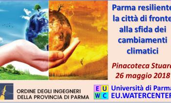Parma affronta la sfida dei cambiamenti climatici