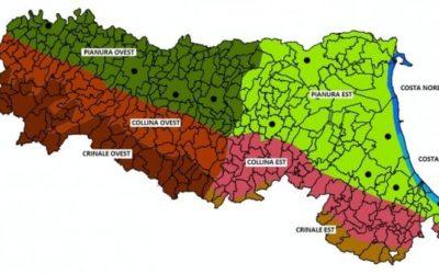 Aumento medio di 1,6 gradi per il clima in arrivo a Parma